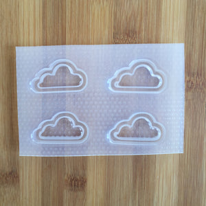 Small Flat Cloud Mold