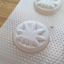 Load image into Gallery viewer, 1.5 inch Weed Plastic Mold