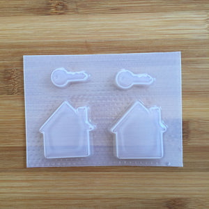 Key & House Outline Mold 🔑🏠 - New Home Owners