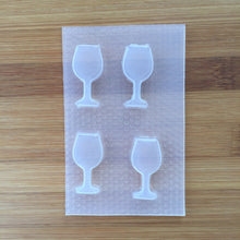 Load image into Gallery viewer, Small Wine Glass Mold 🍷