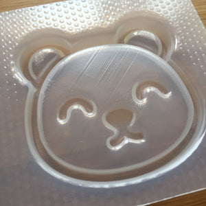 🐻 Large Kawaii Bear Face Mold