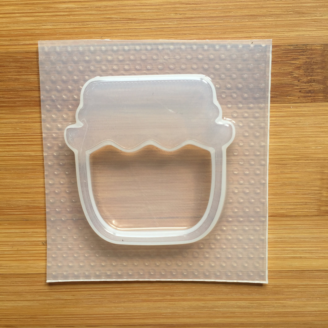 🍯 Small Honey Pot Shaker Mold