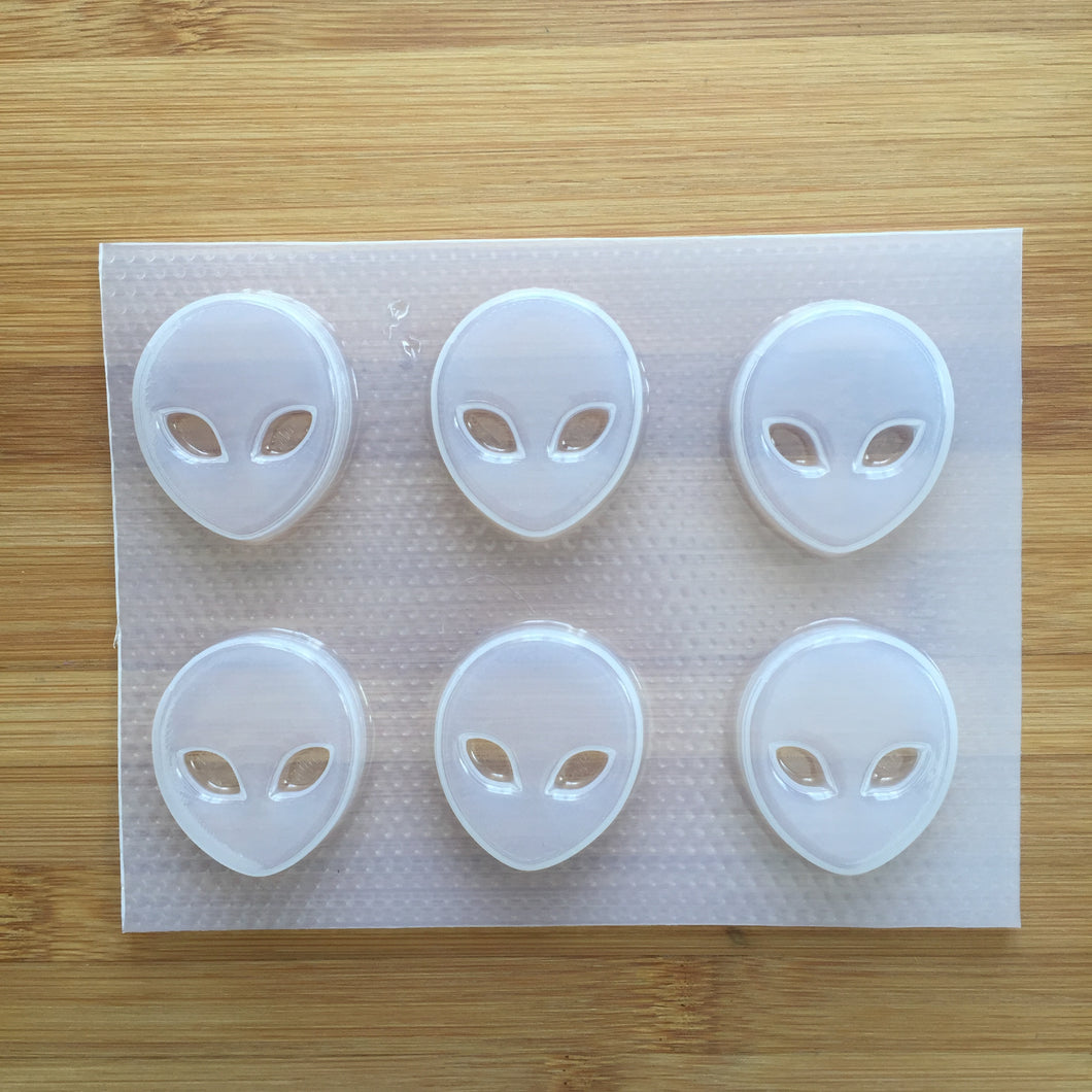 Small Alien Head Mold