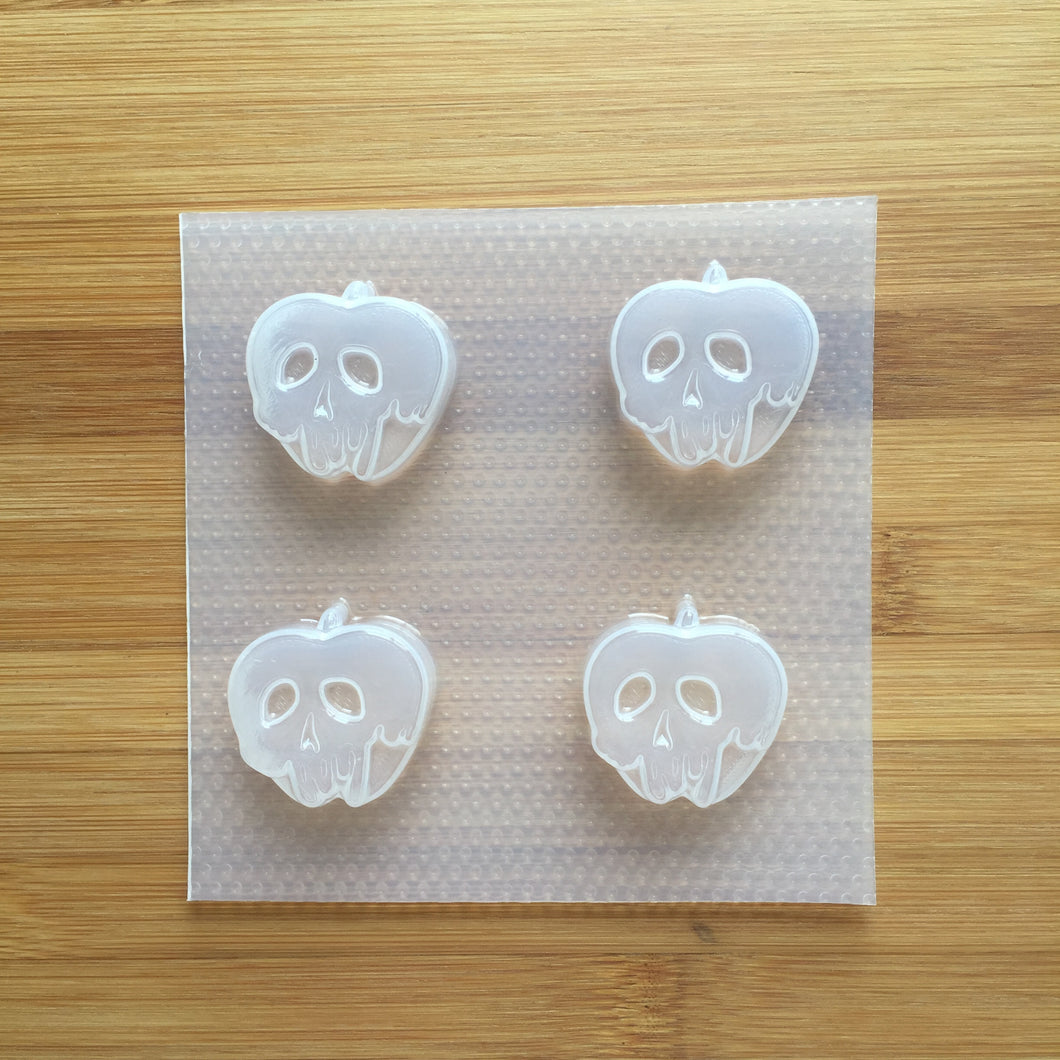 🍎 Small Poison Apple Plastic Mold