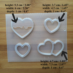Heart Shakers Mold