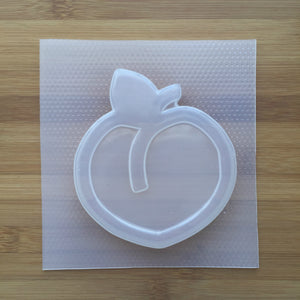 4.8 oz Peach Plastic Mold