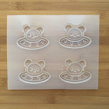 Load image into Gallery viewer, Kawaii Bear UFO Shaker Plastic Mold