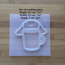 Load image into Gallery viewer, Kawaii Puppy Mug Shaker Plastic Mold