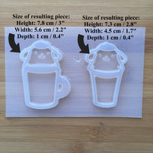 Load image into Gallery viewer, Kawaii Dog Cup Shaker Plastic Mold