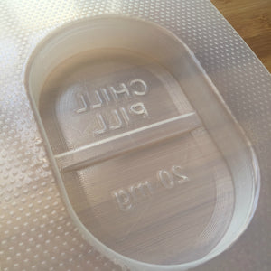 7.4 oz Chill Pill Plastic Mold