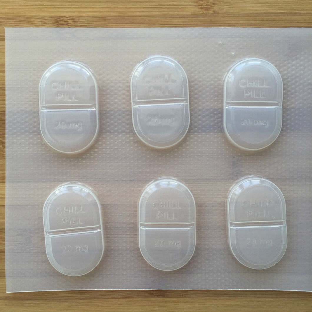 0.7 oz Chill Pill Plastic Mold