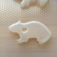 Load image into Gallery viewer, Rat Silhouette Plastic Mold