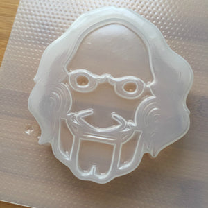 4.8 oz Creepy Face Plastic Mold