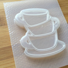 Load image into Gallery viewer, Teacup & Saucer Stack Shaker Plastic Mold