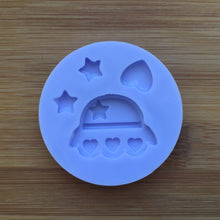 Load image into Gallery viewer, Kawaii UFO Spaceship Silicone Rubber Mold