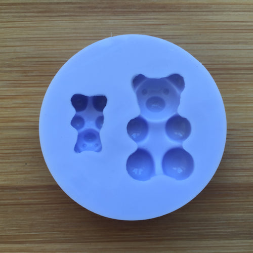 Gummy Bears Silicone Rubber Mold