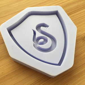 Snake Crest Shaker Silicone Mold