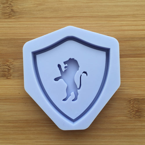 Lion Shaker Crest Silicone Mold
