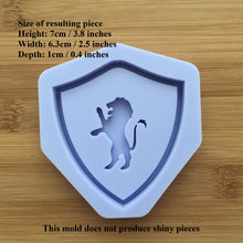 Load image into Gallery viewer, Lion Shaker Crest Silicone Mold