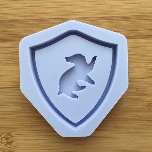 Badger Crest Shaker Silicone Mold