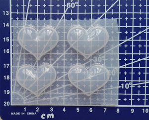 Small Bubble Hearts Mold 💗