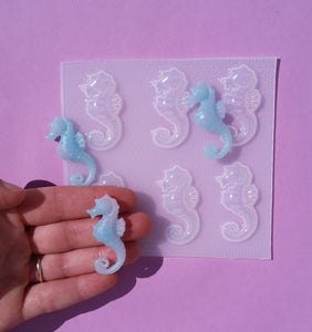 Realistic Sea horse Mold