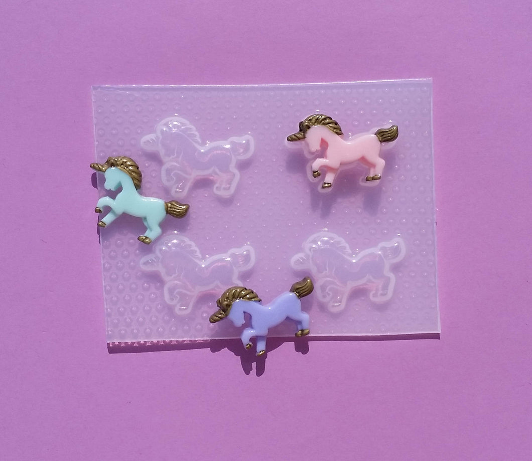 Small Full Body Unicorn Mold