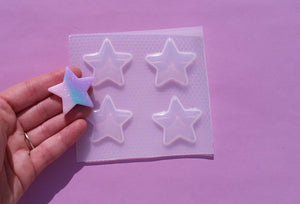 Large Flat Star Mold