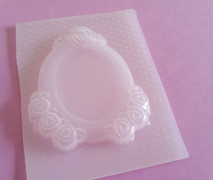 Roses Cameo Frame Setting Mold