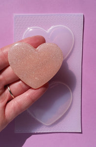 Large Bubble Heart Mold 💙
