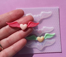 Load image into Gallery viewer, Small Angel Hearts Mold