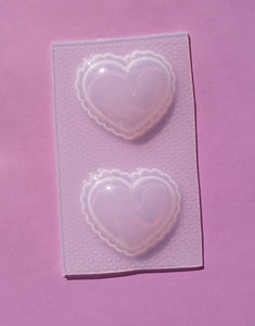Puffy Hearts Mold