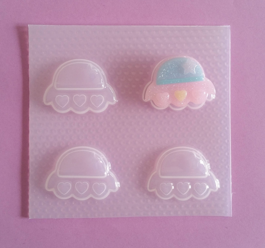 Kawaii Spaceship Mold