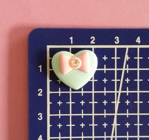 Small Bow Heart Mold