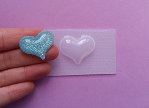 Small Barbie Heart Mold