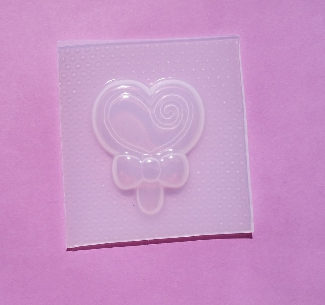 Heart Lollipop Mold