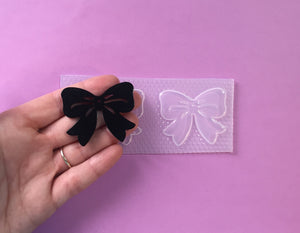 Large Flat Bow Fondant Mold