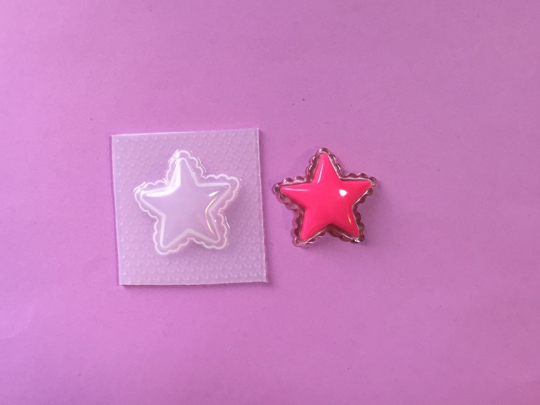Puffy Star Mold