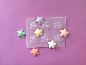 Small Puffy Stars Mold