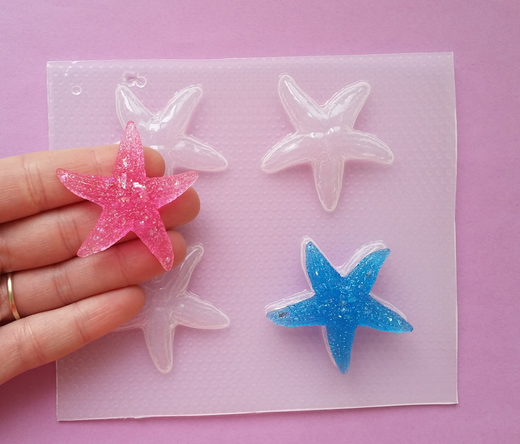Small Star Fish Mold