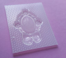 Load image into Gallery viewer, Flowers Bow Cameo Frame Setting Mold