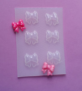 1.2 cm Small Kawaii Bows Mold 🎀