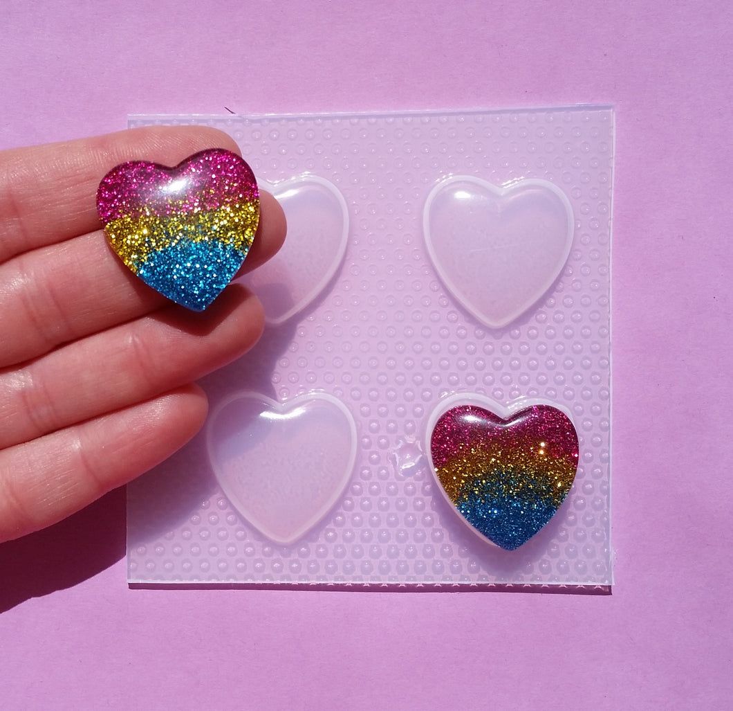 Small Heart Mold