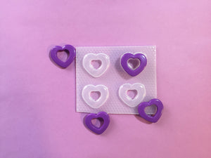 Puffy Hollow Heart Mold