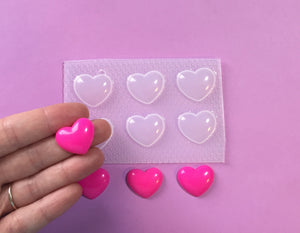 Small Bubble Heart Mold