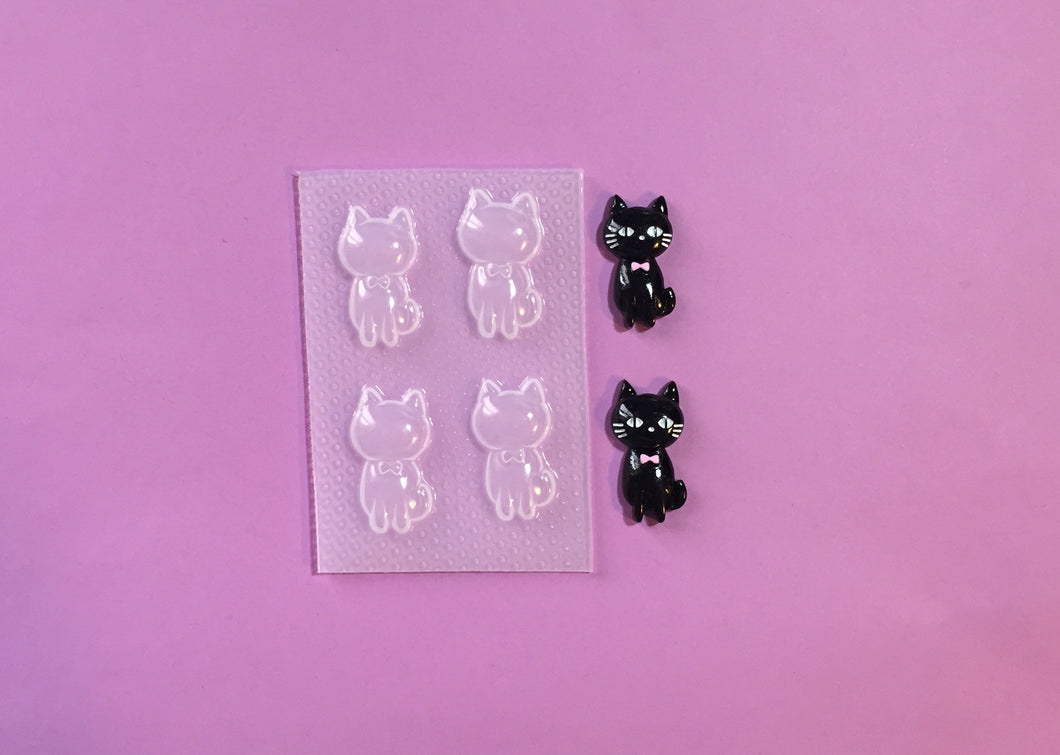 Cute Sitting Cat Mold