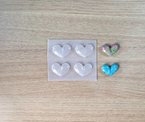 Faceted Hearts Mold 💖