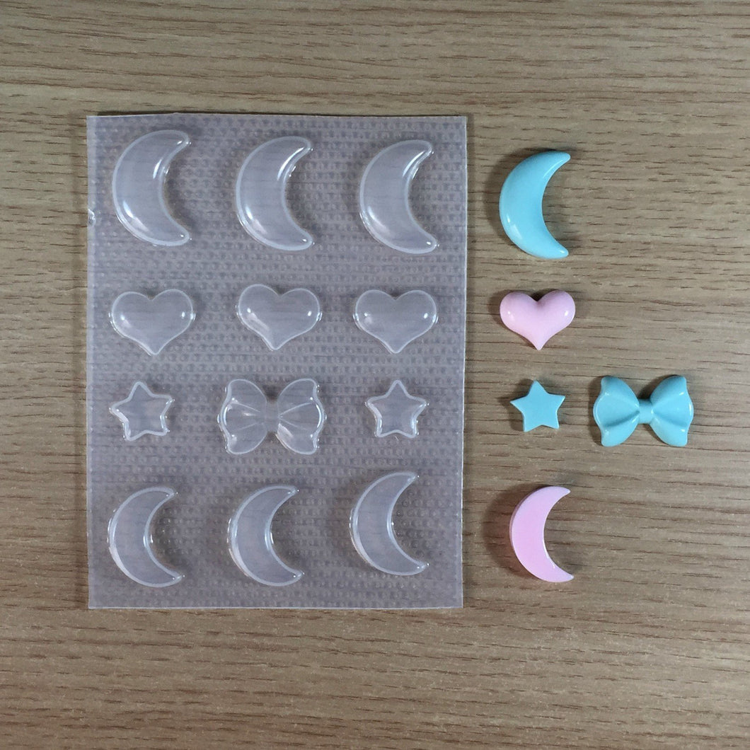 Kawaii Shapes Mold