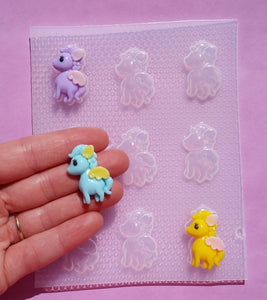 Small Pegasus Mold