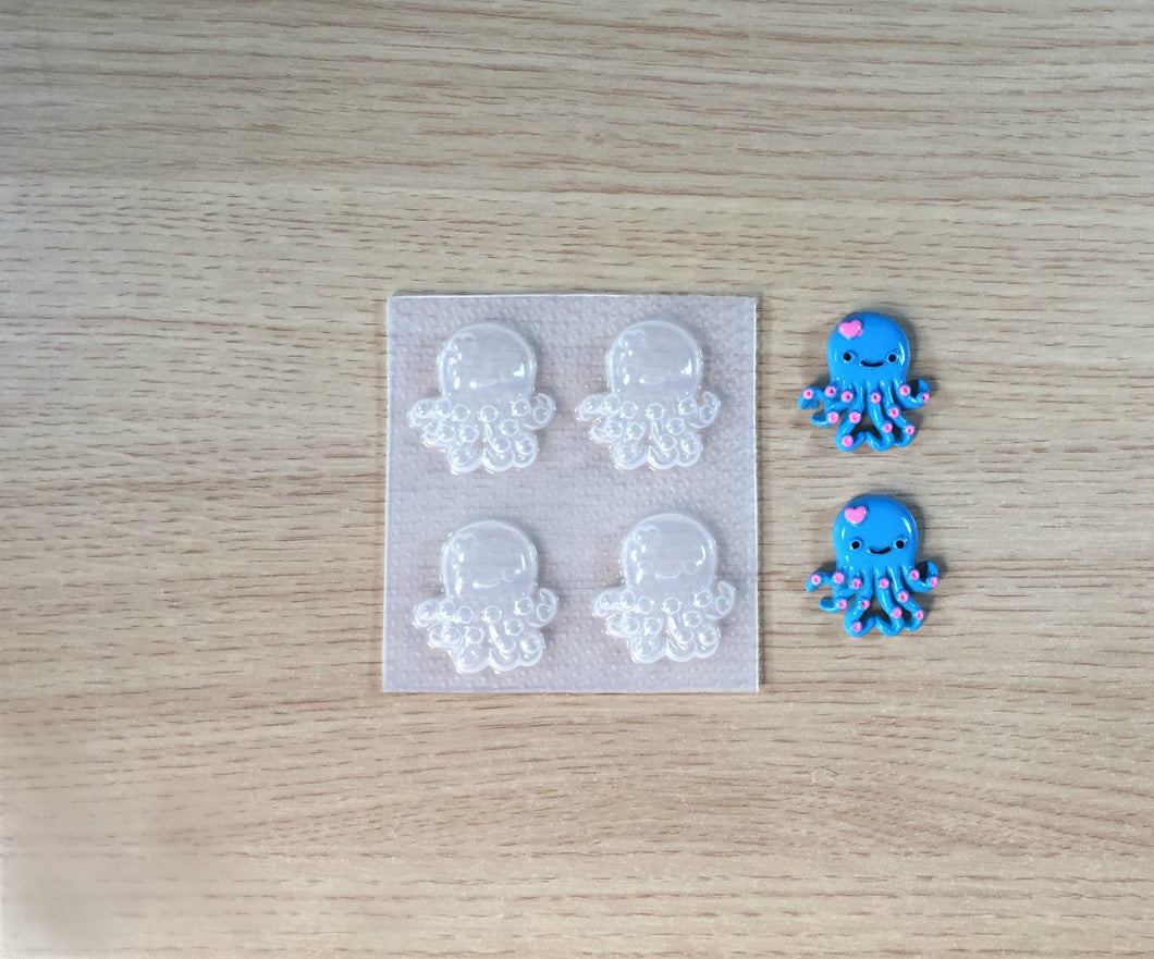 Kawaii Octopus Mold